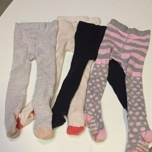 Bundle of tights 12-24 months